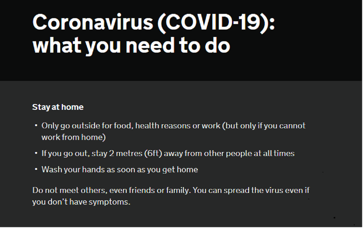Coronavirus Advice picture2